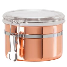 "OGGI Stainless Steel Canister - 5x3-5/8"", 26 oz. in Copper - Overstock"