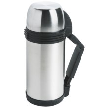 sale item: Oggi Stainless Steel Flask Wide Mouth Insulated