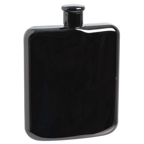 OGGI Stainless Steel Hip Flask - 6 fl.oz. in Black