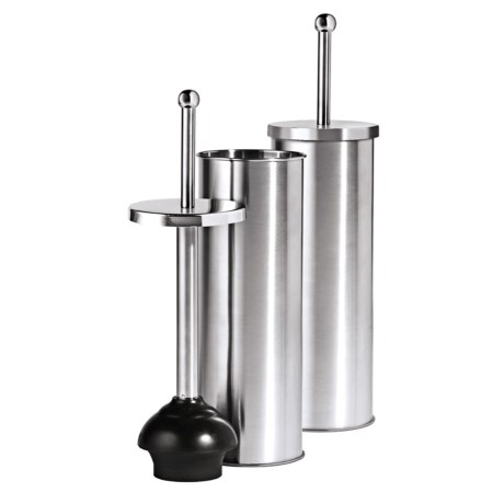 oggi stainless steel toilet plunger save 25. Black Bedroom Furniture Sets. Home Design Ideas