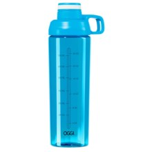 OGGI Tritan Wide Mouth Water Bottle - BPA-Free, 30 fl.oz. in Blue - Closeouts