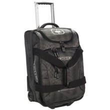 """Ogio Ascender Expandable Duffel Bag - Rolling Carry-On, 22"""" in Raceday - Closeouts"""