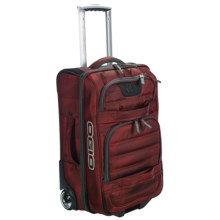 """Ogio Blitz Expandable Upright Suitcase - Rolling Carry-On, 21"""" in Red Envelop - Closeouts"""