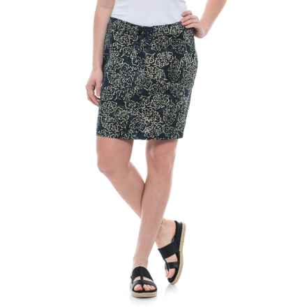 Ojai Batik Stretch Board Skirt (For Women) in Black - Closeouts