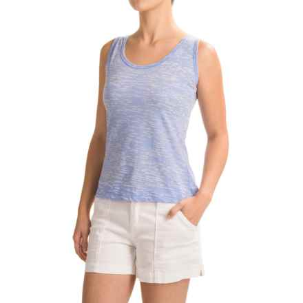Ojai Burnout Layering Tank Top (For Women) in Chambray - Closeouts