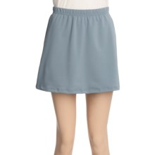 Ojai Cross Training Skirt (For Women) in Platinum - Closeouts