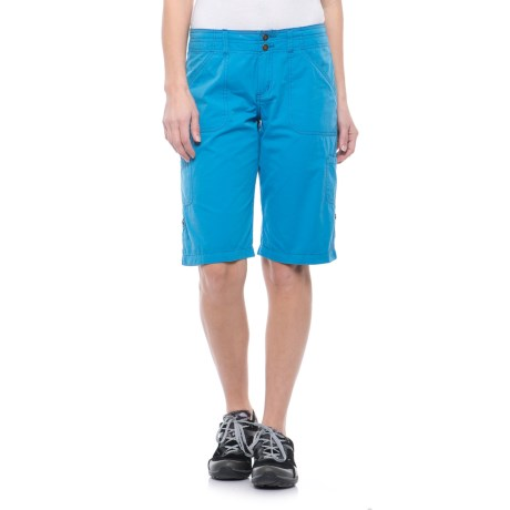 Ojai Fast Dry Bermuda Shorts (For Women) in Nile Blue