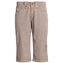 Ojai Fast Dry Capris (For Women) in Taupe - Closeouts
