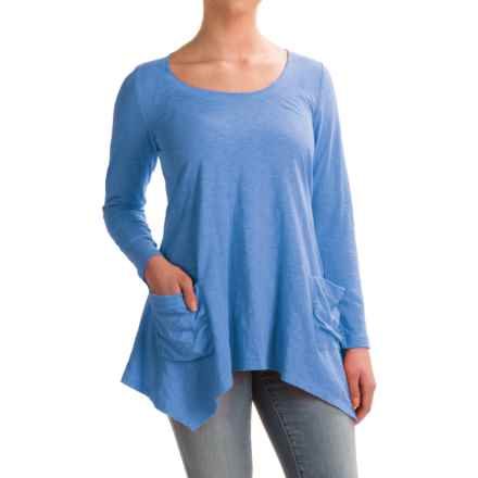 Ojai Favorite Shirt - Long Sleeve (For Women) in Chambray - Closeouts