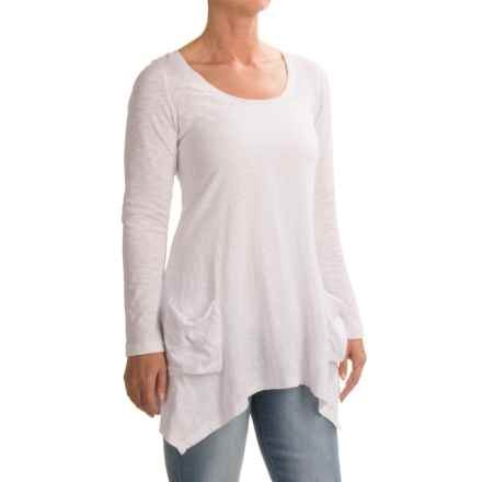 Ojai Favorite Shirt - Long Sleeve (For Women) in White - Closeouts