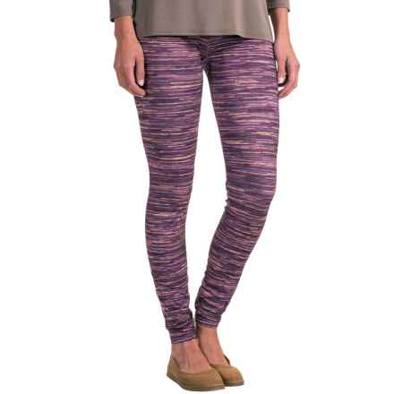 Ojai Globe Trotter Leggings (For Women) in Plum Stripe - Closeouts