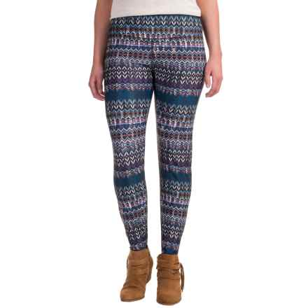 Ojai Globe Trotter Leggings (For Women) in Violet Needlepoint - Closeouts