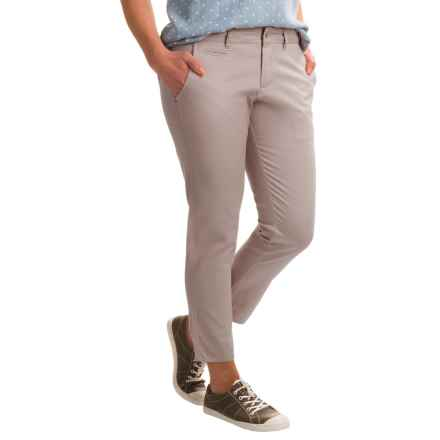 Ojai Gotta Have Cropped Pants (For Women) in Opal Grey - Closeouts