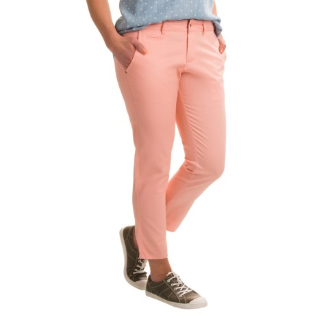 Ojai Gotta Have Cropped Pants (For Women) in Peach Tea