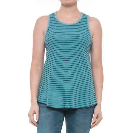 Ojai Reversible Classic Tank Top (For Women) in Blue Topaz - Closeouts