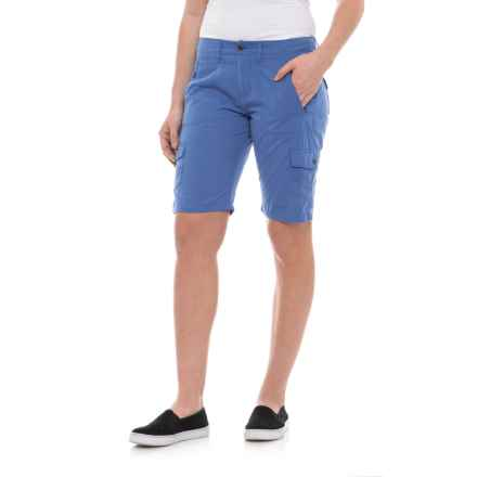Ojai Road Trip Bermuda Shorts (For Women) in Cobalt Blue - Closeouts