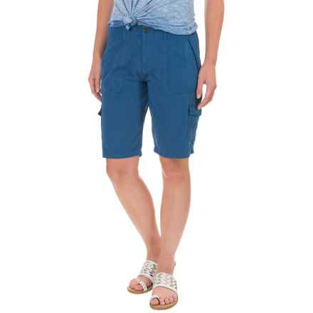Ojai Road Trip Bermuda Shorts (For Women) in Indigo - Closeouts
