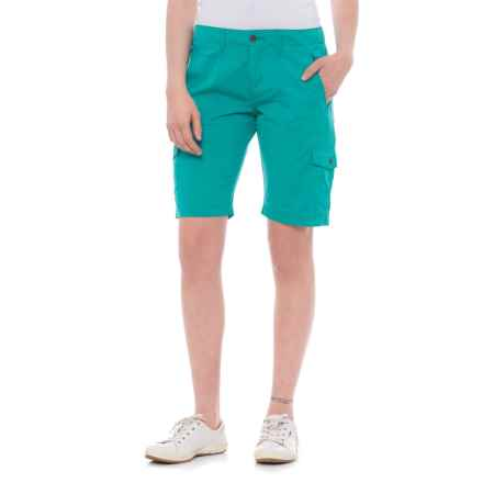 Ojai Road Trip Bermuda Shorts (For Women) in Pool - Closeouts