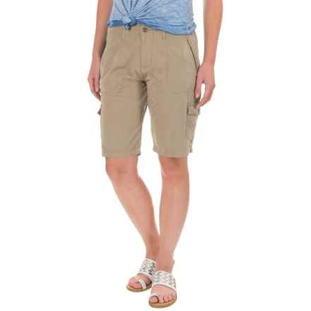 Ojai Road Trip Bermuda Shorts (For Women) in Safari - Closeouts