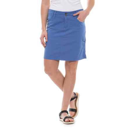 Ojai Road Trip Cargo Skirt (For Women) in Cobalt - Closeouts