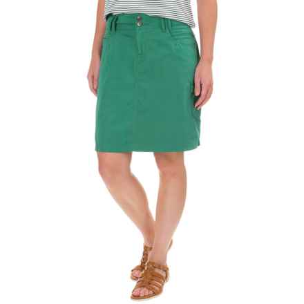 Ojai Road Trip Cargo Skirt (For Women) in Moroccan Green - Closeouts