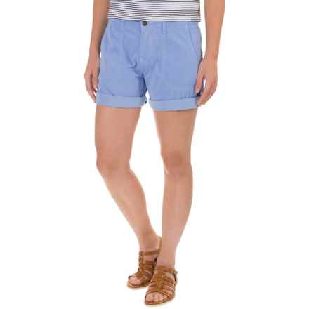 "Ojai Road Trip Shorts - 7"" (For Women) in Chambray - Closeouts"