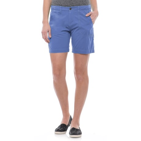 Ojai Road Trip Shorts (For Women) in Cobalt Blue