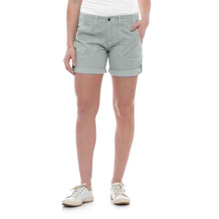 Ojai Road Trip Shorts (For Women) in Gray Dawn - Closeouts