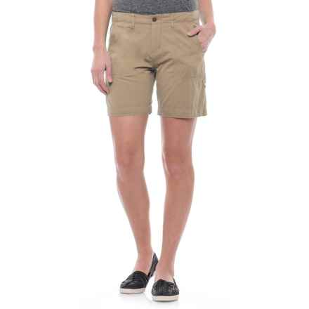 Ojai Road Trip Shorts (For Women) in Sesame - Closeouts