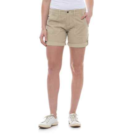 Ojai Road Trip Shorts (For Women) in Warm Sand - Closeouts