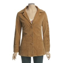 Ojai Snow-Washed Corduroy Barn Jacket (For Women) in Honey - Closeouts