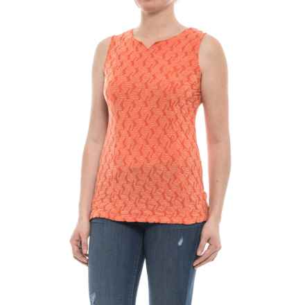 Ojai Squash-It Tank Top (For Women) in Coral - Closeouts