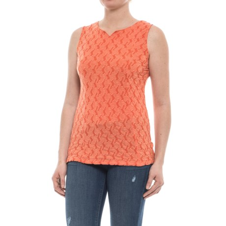 Ojai Squash-It Tank Top (For Women) in Coral