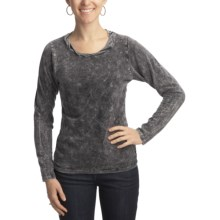 Ojai Thermal Shirt - Long Sleeve (For Women) in Black - Closeouts