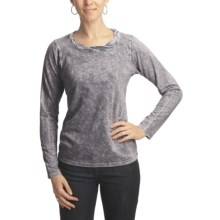 Ojai Thermal Shirt - Long Sleeve (For Women) in Gray - Closeouts