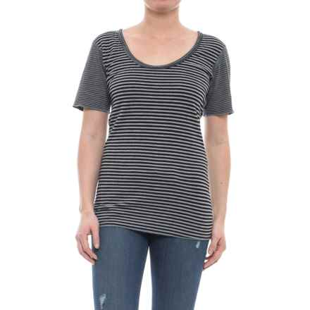Ojai Topa Reversible Tunic Shirt - Short Sleeve (For Women) in Black - Closeouts