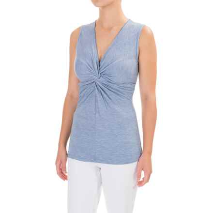 Ojai Topa Twisted Tank Top (For Women) in Chambray - Closeouts