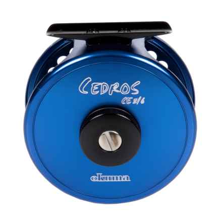 Okuma Fishing Tackle Okuma Fishing Cedros Saltwater Fly Reel - 5/6wt in See Photo - Closeouts