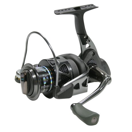 Okuma Fishing Tackle Trio 20 Spinning Reel - Ladies Edition in Black