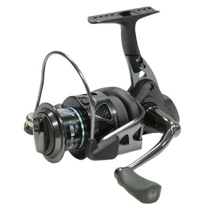 Okuma Trio 20 Spinning Reel - Ladies Edition in Black - Closeouts