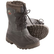 Olang Canadian Winter Pac Boots (For Boys and Girls) in Anthracite - Closeouts