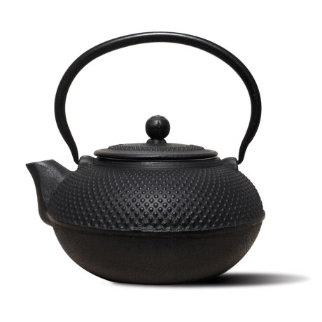 Old Dutch International Cast Iron Saga Teapot - 52 oz. in Matte Black