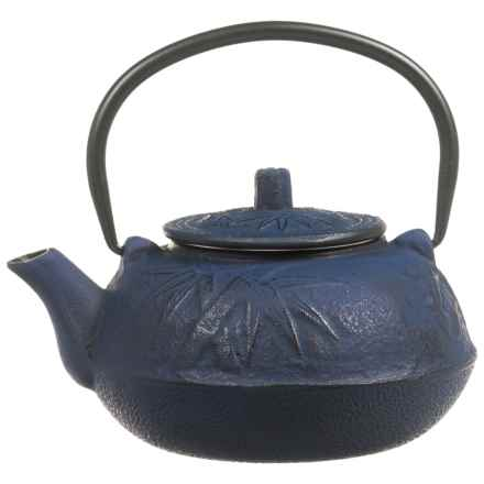 Old Dutch International Cast Iron Teapot - 20 fl.oz. in Blue - Closeouts
