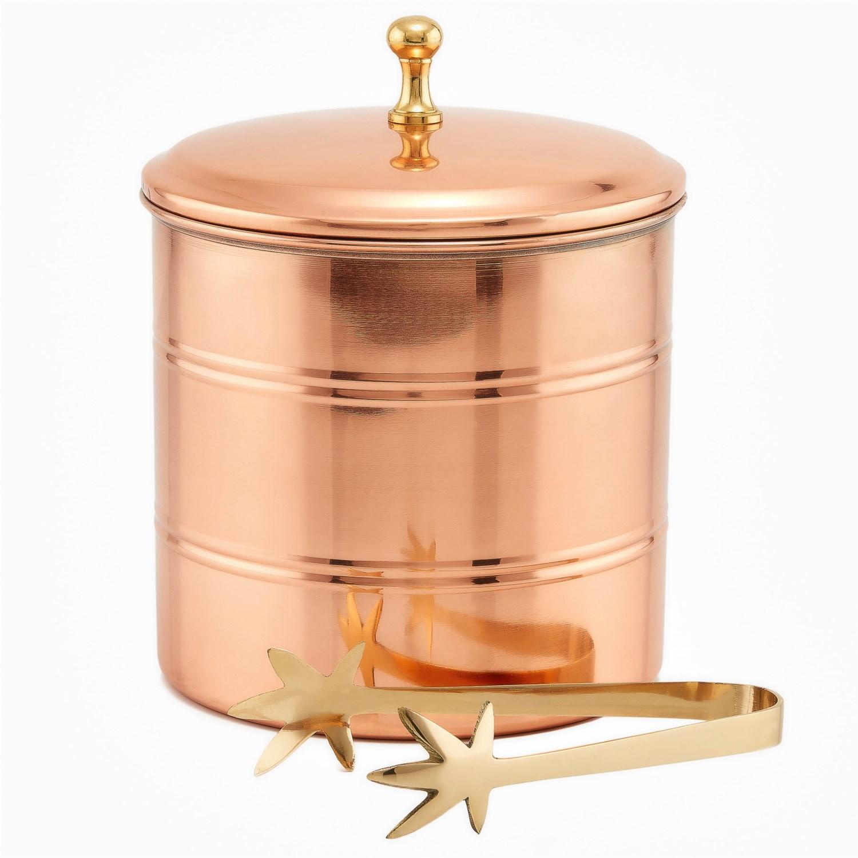 Old dutch international decor copper ice bucket 3 qt for International decor