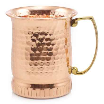Old Dutch International Hammered Copper Moscow Mule Mug - 17 oz. in Copper - Closeouts