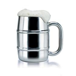 Old Dutch International Keep Kool® Beer Mug - Stainless Steel in Stainless