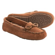 Old Friend Jemma Moc Slippers - Sheepskin Footbed (For Women) in Tan - Closeouts