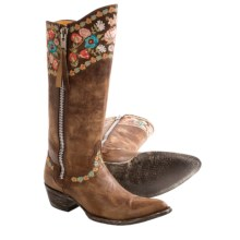 "Old Gringo Gayla Razz Cowboy Boots - Leather, 13"" (For Women) in Brass - Closeouts"