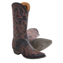 "Old Gringo Lauren Cowboy Boots - Leather, 13"" (For Women) in Blue Jean - Closeouts"