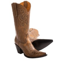 "Old Gringo Mia Cowboy Boots - Leather, 13"" (For Women) in Golden - Closeouts"